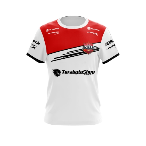 UNIFORME TEAM UNITED BRANCO 2016- PLAYPAD