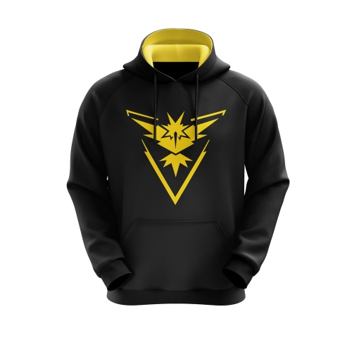 Moletom Team Instinct Preto- Playpad