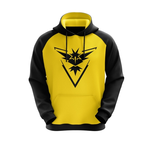 MOLETOM TEAM INSTINCT - AMARELO