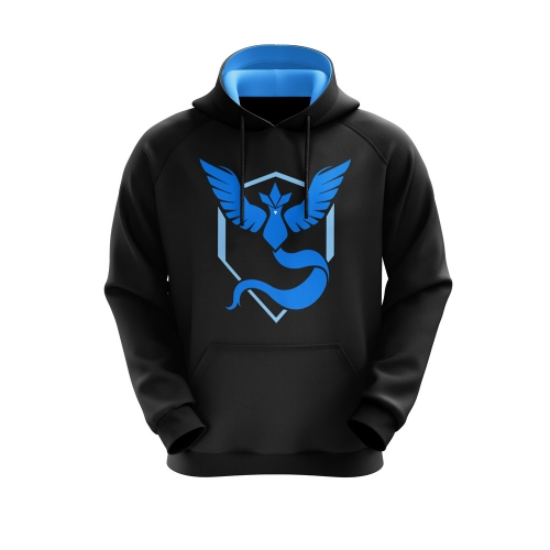 Moletom Team Mystic Preto- Playpad