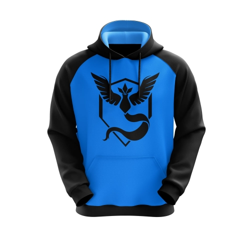 Moletom Team Mystic Azul- Playpad