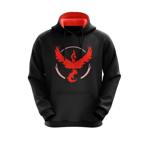 MOLETOM TEAM VALOR - PRETO
