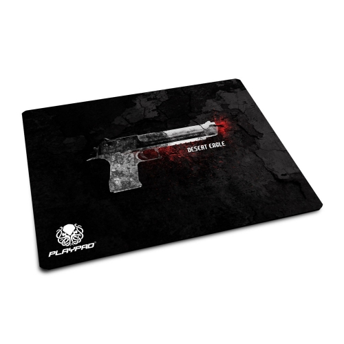 Mousepad Gamer PlayPad - MINI - Desert Eagle