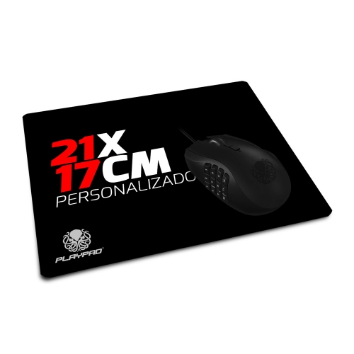 Mousepad Gamer Personalizado - 21 x 17 cm (Mini)
