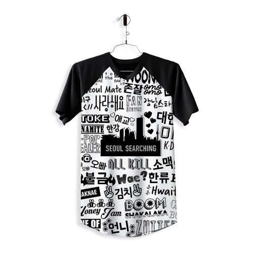 Camiseta Korea Collage