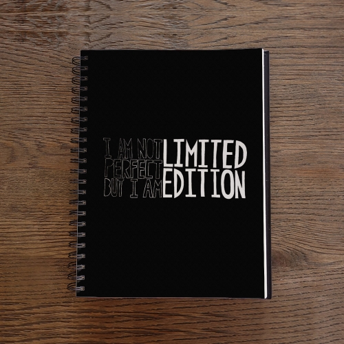 Caderno Limited Edition