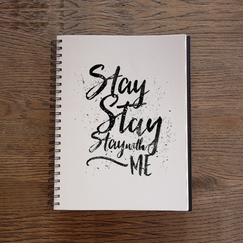 Caderno Stay with me
