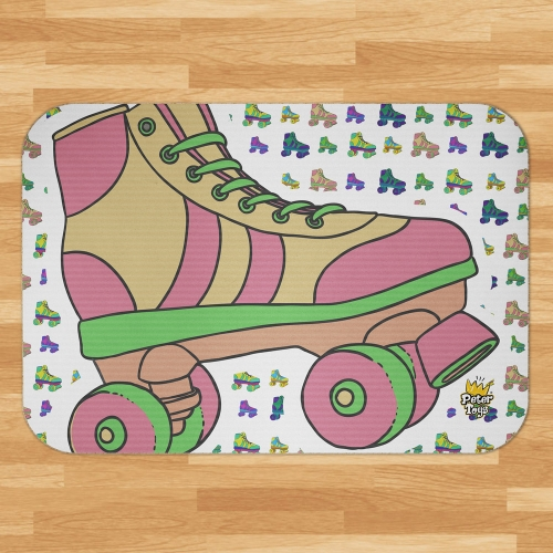 Tapete de quarto Roller Girl