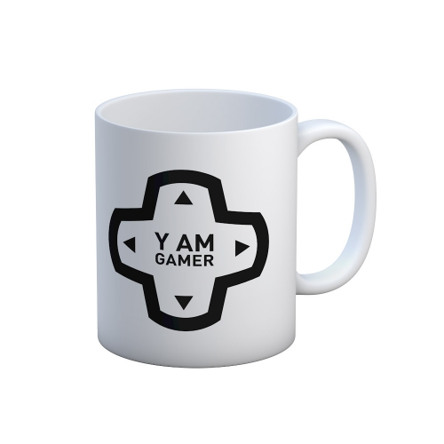 Caneca Yo Talk Show - Y am gamer