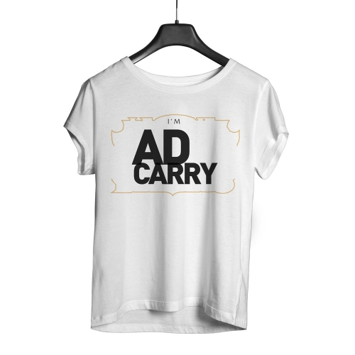 Camiseta Playpad Ad Carry - Branca