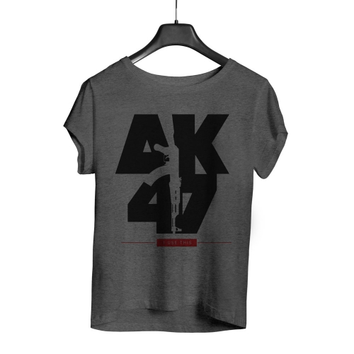 Camiseta Playpad AK47 - Mescla