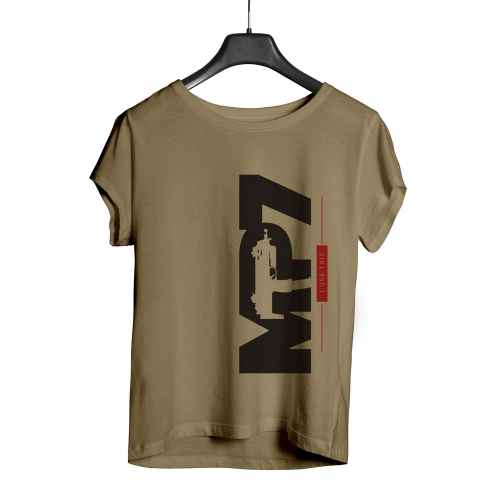 Camiseta Playpad MP7 - Areia