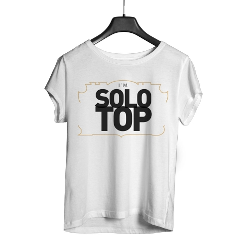 Camiseta Playpad Solo Top - Branca