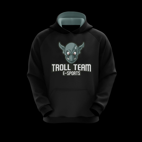 Moletom Troll Team