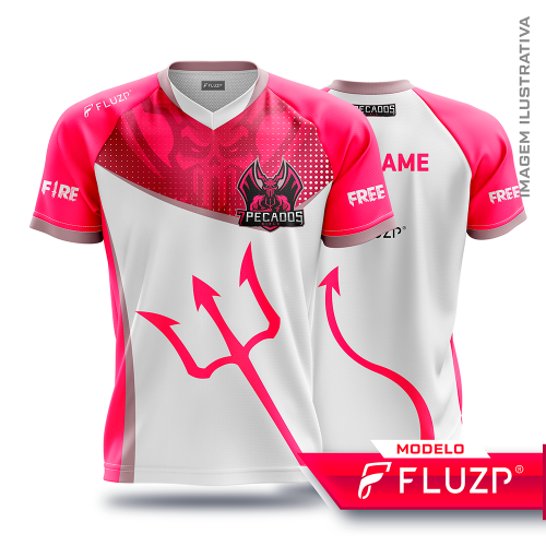 Uniforme 7 Pecados E-Sports - Girls