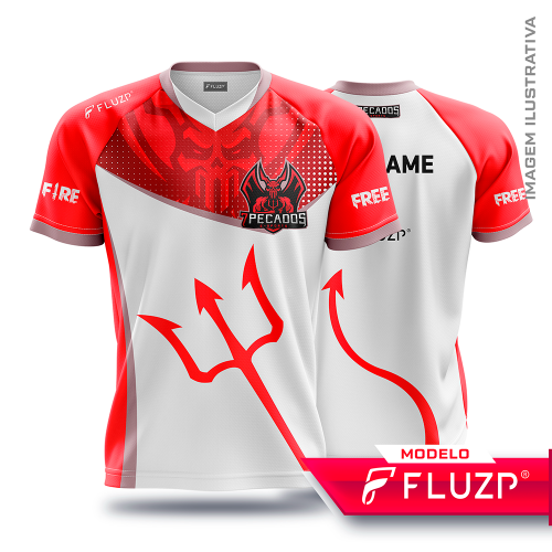 Uniforme 7 Pecados E-Sports - White