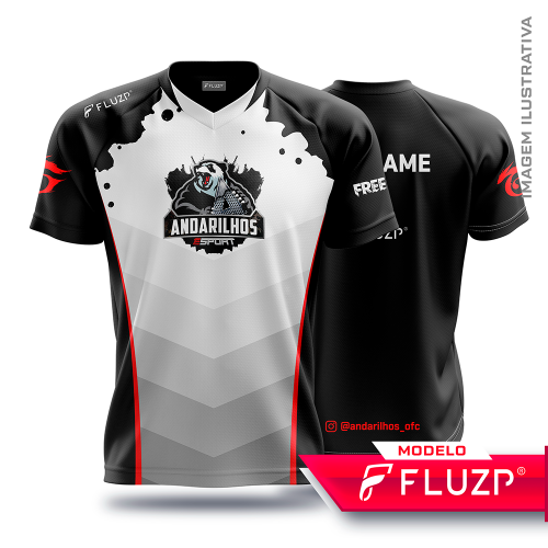 Uniforme Andarilhos E-Sports