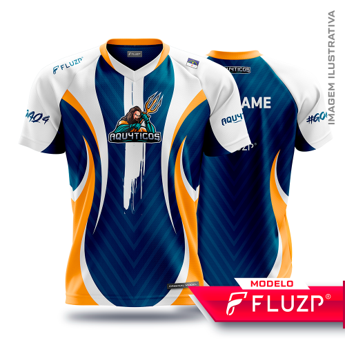 Uniforme Aqu4ticos E-SPORTS