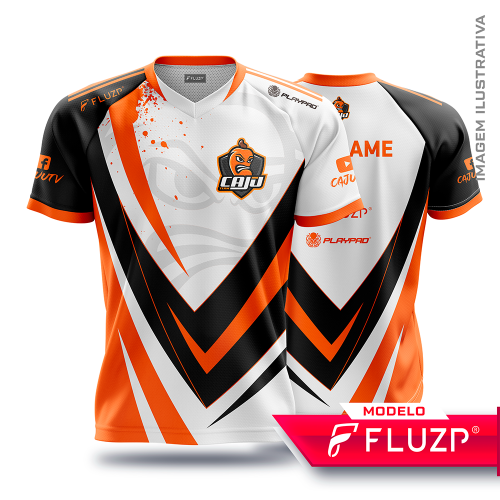 Uniforme Caju Team E-SPORTS