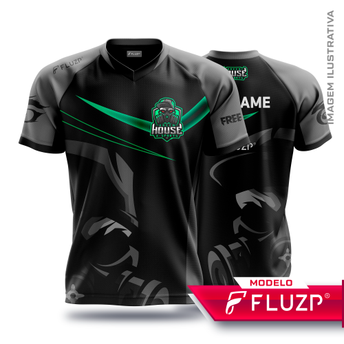 Uniforme Green House E-Sports