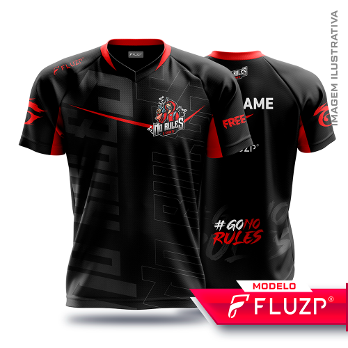 Uniforme NO RULES E-Sports