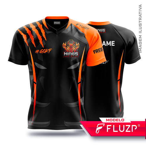 Uniforme KINGS FIRE E-Sports