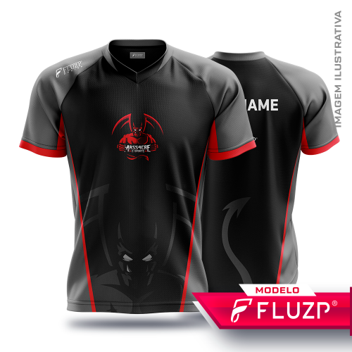 Uniforme MASS4CRE E-Sports