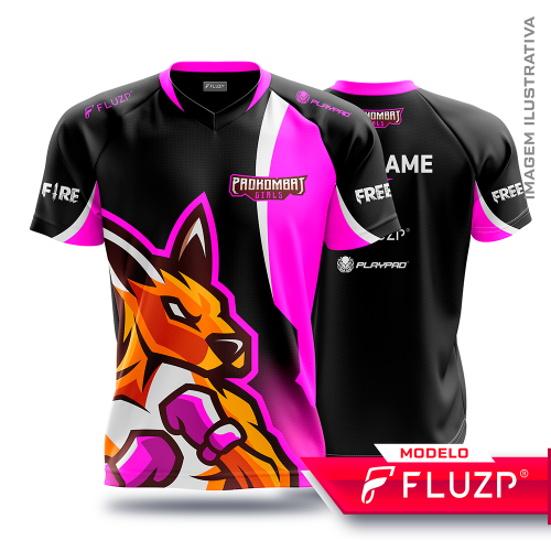 Uniforme PRO KOMBAT GIRLS E-Sports