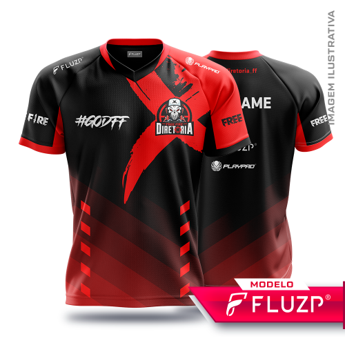 Uniforme Diretoria Free Fire e-sports
