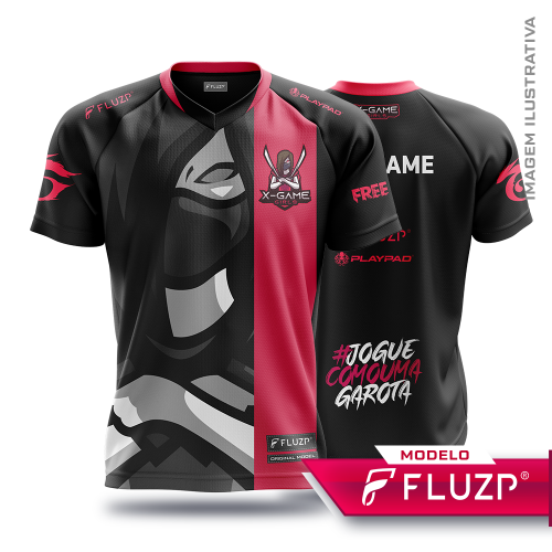 Uniforme X-Game Girls e-sports