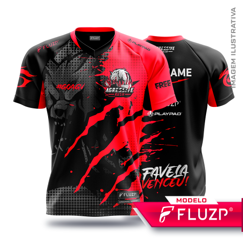 Uniforme  Agressive Rush e-sports