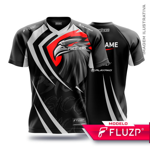 Uniforme  Psicóticos e-sports