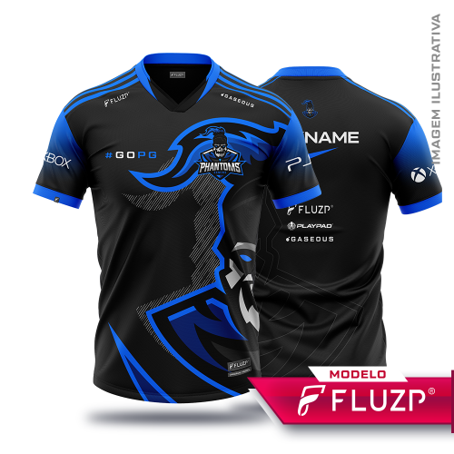 Uniforme Phantoms Gaming