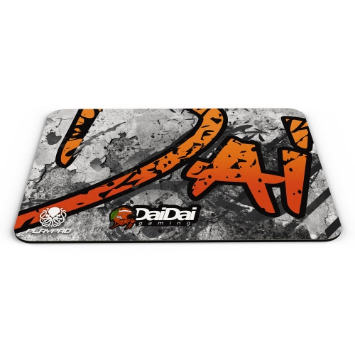 MOUSE PAD GAMER PLAYPAD MATPAD - DAIDAI WHITE