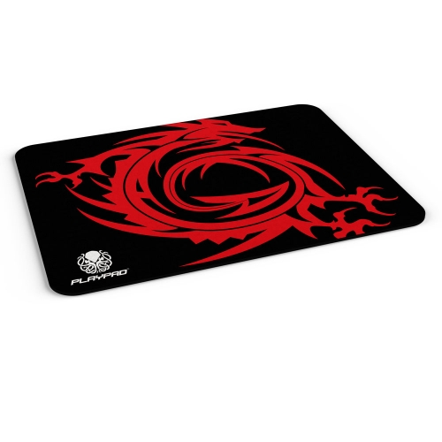 MOUSE PAD GAMER PLAYPAD NGP - DRAGON RED